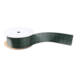 Taylor Clan Tartan Satin Ribbon