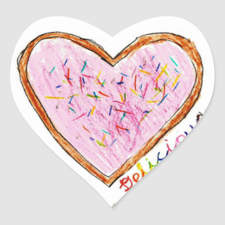 Taylor: Heart Sticker