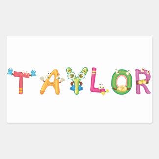 Taylor Sticker