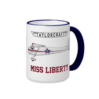 Taylorcraft - Miss Liberty Coffee Mug