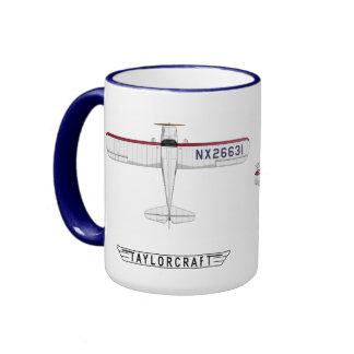 Taylorcraft - Miss Liberty Ringer Mug