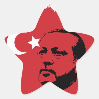 tayyip erdogan love star sticker
