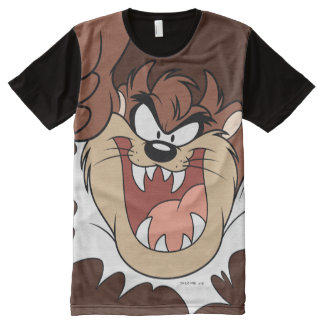 TAZ™ Bursting Through Page All-Over Print T-Shirt