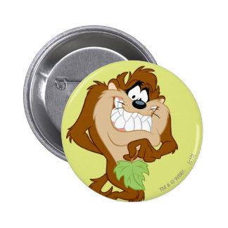 TAZ™ holding a leaf 6 Cm Round Badge