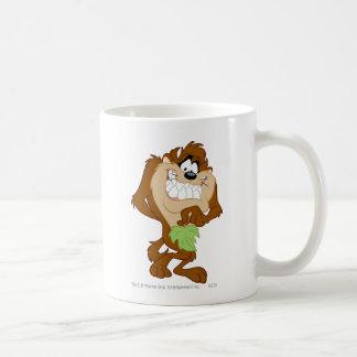 TAZ™ holding a leaf Basic White Mug