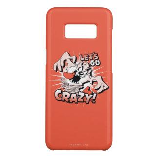 """TAZ™ """"Let's Go Crazy!"""" Halftone Case-Mate Samsung Galaxy S8 Case"""