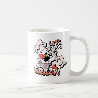 """TAZ™ """"Let's Go Crazy!"""" Halftone Coffee Mug"""