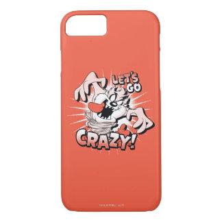 "TAZ™ ""Let's Go Crazy!"" Halftone iPhone 8/7 Case"