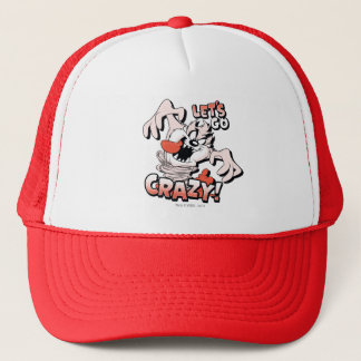 "TAZ™ ""Let's Go Crazy!"" Halftone Trucker Hat"