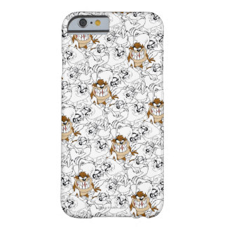 TAZ™ Line Art Color Pop Pattern Barely There iPhone 6 Case