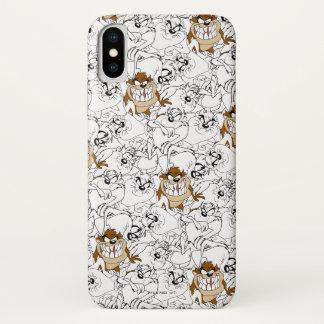 TAZ™ Line Art Color Pop Pattern iPhone X Case