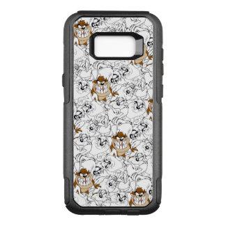 TAZ™ Line Art Color Pop Pattern OtterBox Commuter Samsung Galaxy S8+ Case