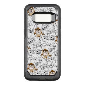 TAZ™ Line Art Color Pop Pattern OtterBox Commuter Samsung Galaxy S8 Case