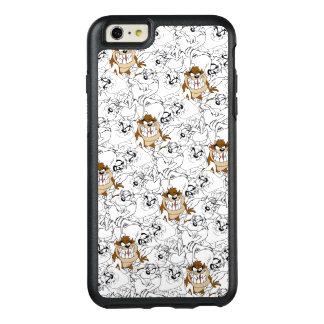 TAZ™ Line Art Color Pop Pattern OtterBox iPhone 6/6s Plus Case