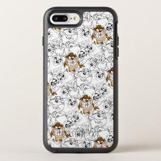 TAZ™ Line Art Color Pop Pattern OtterBox Symmetry iPhone 8 Plus/7 Plus Case