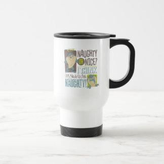 TAZ™- Naughty or Nice? Travel Mug