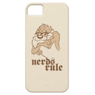 TAZ™ - Nerds Rule iPhone 5 Covers