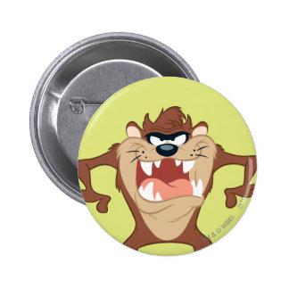 TAZ™ posing 14 6 Cm Round Badge