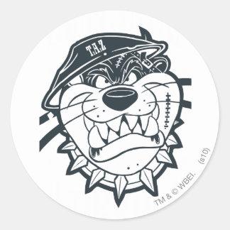 TAZ™ - Rebel 8 Round Sticker