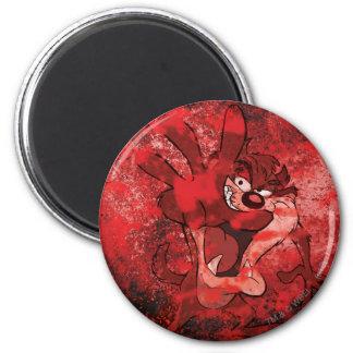TAZ™ Sinister 6 Cm Round Magnet