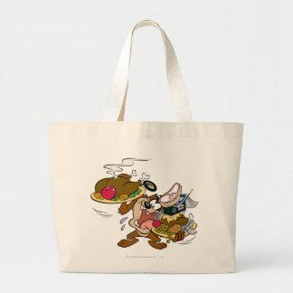 TAZ™ Thanksgiving Plates Tote Bag