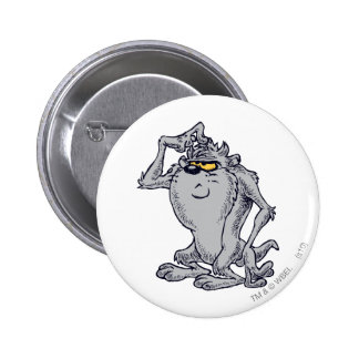 TAZ™ Thinking Artistic Design 6 Cm Round Badge