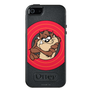 TAZ™ Through LOONEY TUNES™ Circles OtterBox iPhone 5/5s/SE Case