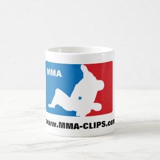 Taza Logo MMA Basic White Mug