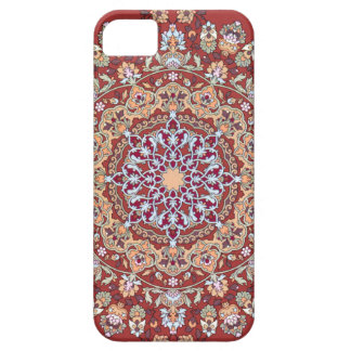 Tazhib of the Persian art with red bottom sends it Case For The iPhone 5