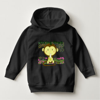 TBA AWARD Winner-Living Green Monkey Gone Bananas Hoodie
