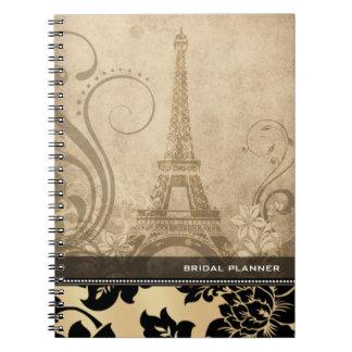 ::TBA:: Fleur de Paris | sand Bridal Planner Journal