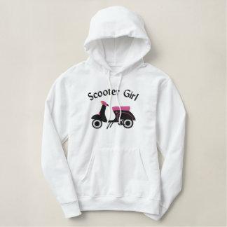 {TBA} Scooter Design :: Black & Pink Hoodie