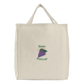 TBA Sweet Pickings Purple Grapes Grocery Bags