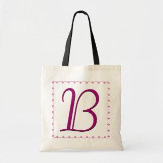 TBA WINNER - Bridesmaid Bag - MAGENTA Monogram