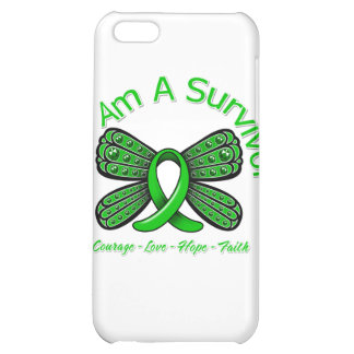 TBI Butterfly I Am A Survivor iPhone 5C Cover