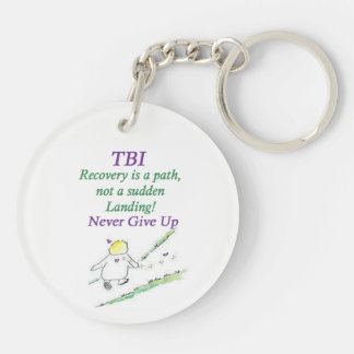 TBI & Vertigo Key Ring