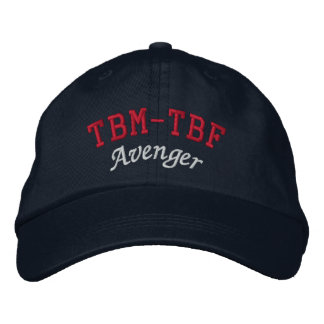 TBM-TBF AVENGER EMBROIDERED HAT