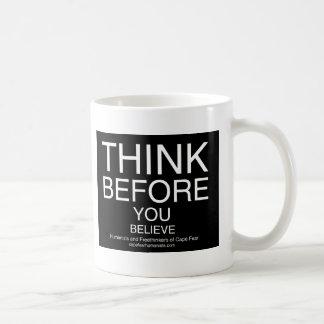TBYB - Humanists Classic White Coffee Mug
