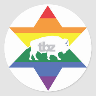 TBZ had Pride! Stickers