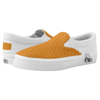 TC2 Orange -Women or Men Slip On Canvas Shoes Printed Shoes