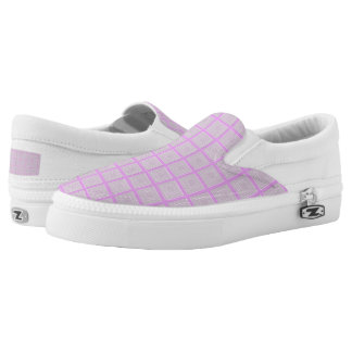 TC lavender -Women or Men Slip-On Printed Shoes