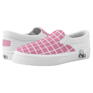 TC Pink -Women or Men Slip-On Printed Shoes