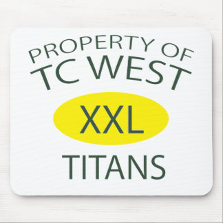 TC West XXL Mousepad