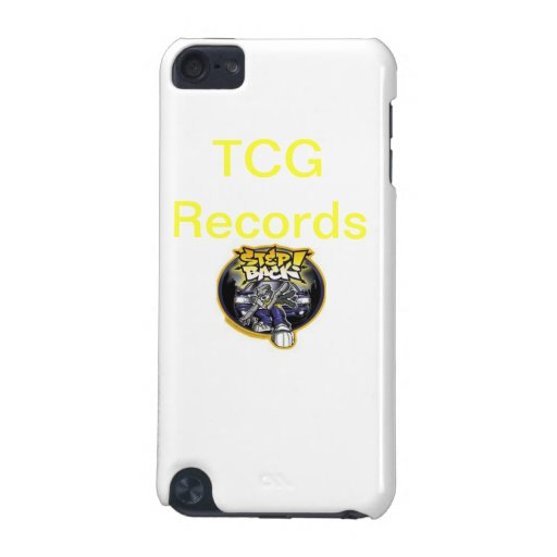 TCG Records Case iPod Touch (5th Generation) Cases