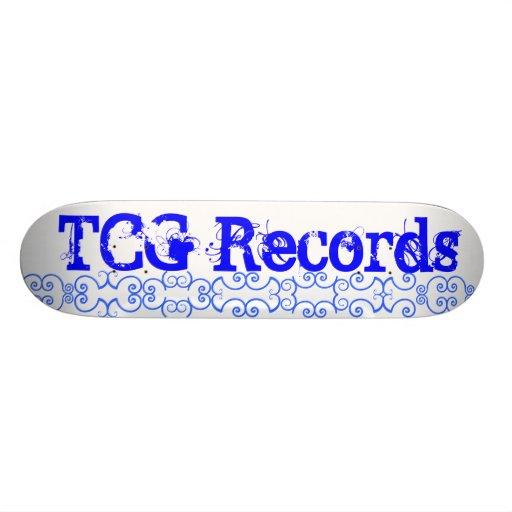 TCG Records Skateboard