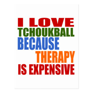 Tchoukball Is My Therapy Postcard
