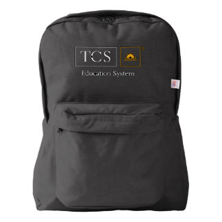 TCS Black Backpack