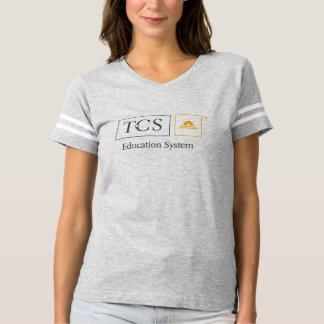 TCS Education System Women's Football T-Shirt