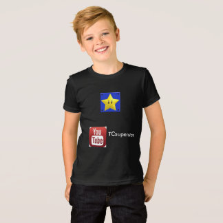 TCsuperstar Youtube TShirt for kids