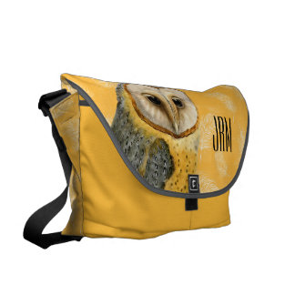 TCWC - Barn Owl Vintage Messenger Bags